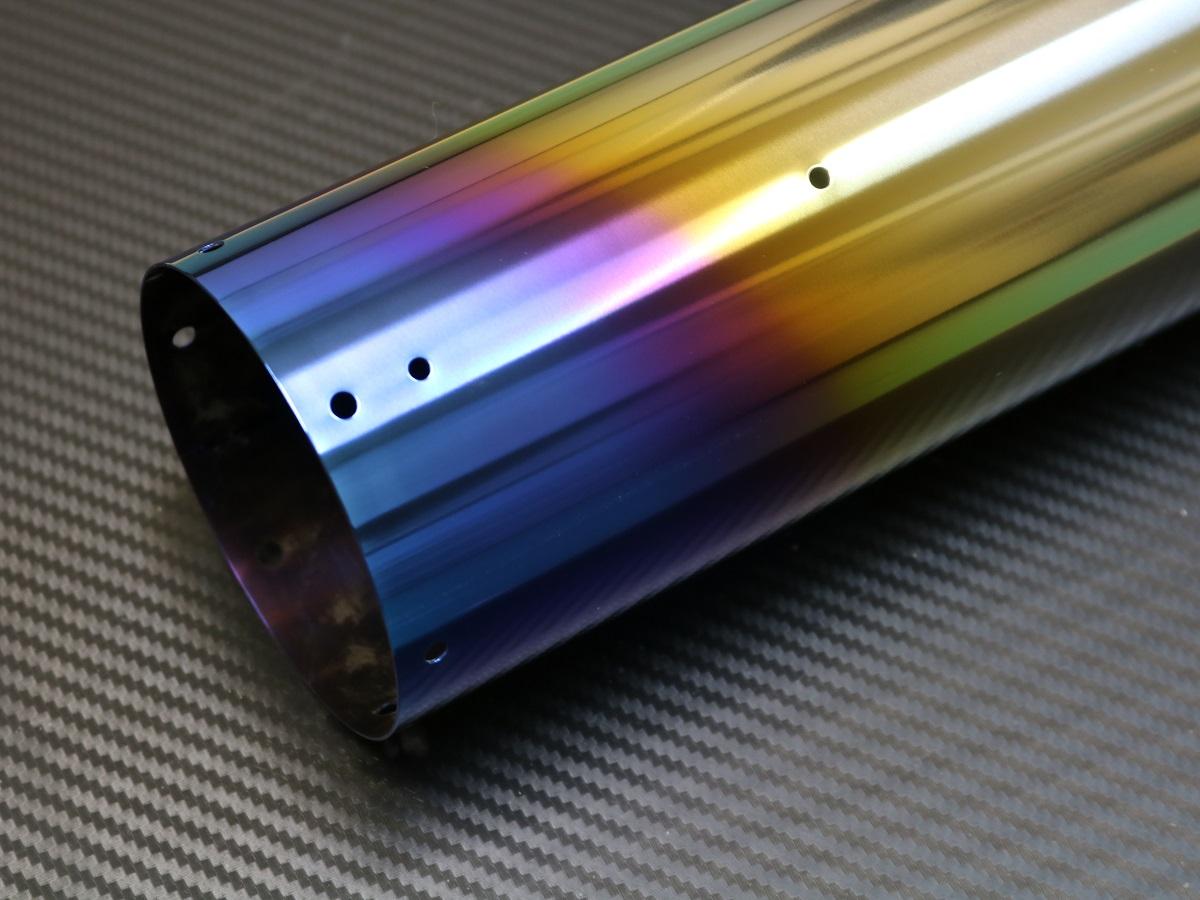 ラウンドタイプ チタン(焼き色)シェルの製品写真